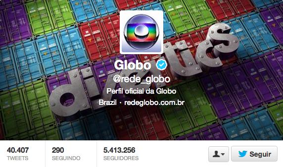 Globo  rede_globo  no Twitter