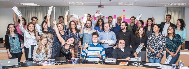 Turma de 2014 do Master em Jornalismo Digital 2014